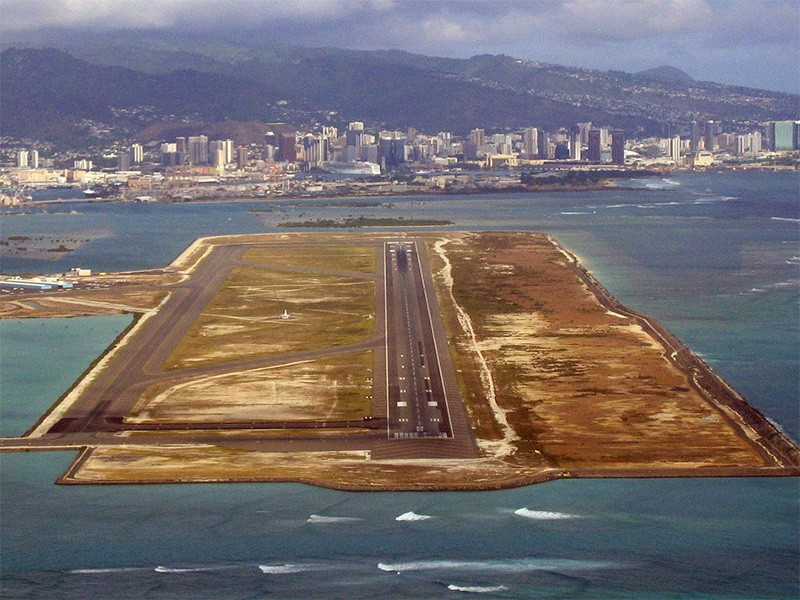 Honolulu National Airport.