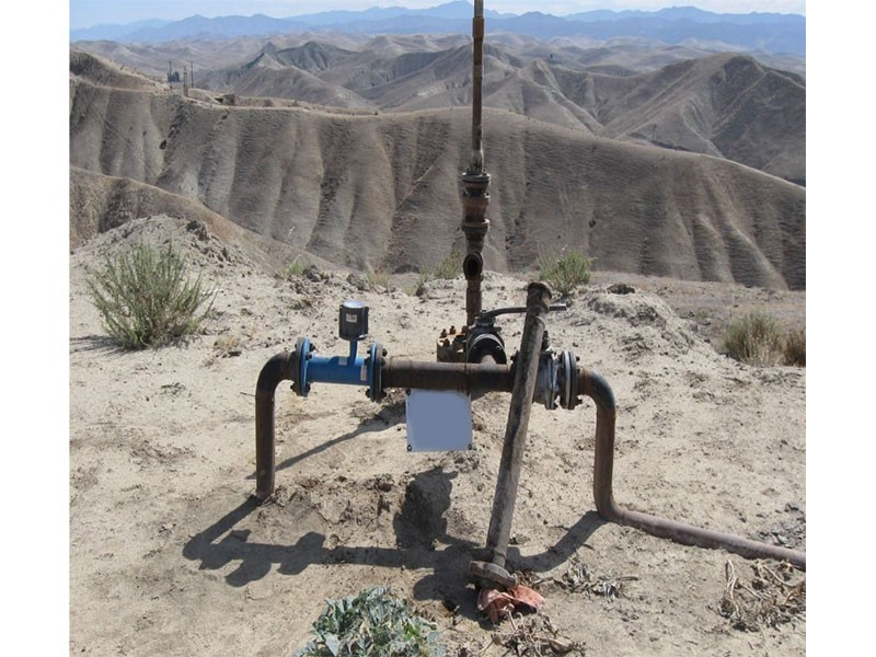 An oil industry wastewater injection well. Illegal injections are contaminating underground water in scores of aquifers across the state, from Monterey to Kern and Los Angeles counties.