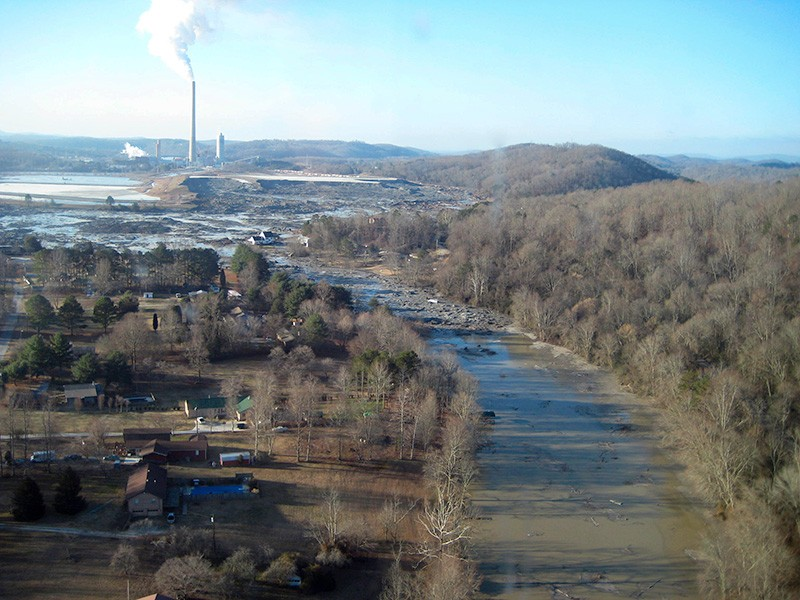 In 2008, the devastating coal ash spill in Kingston, TN, destroyed homes, poisoned rivers and contaminated coves and residential drinking water.