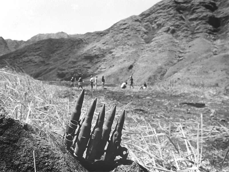 The U.S. military evicted local families from Mākua during World War II, converting the valley into a live-fire training facility.