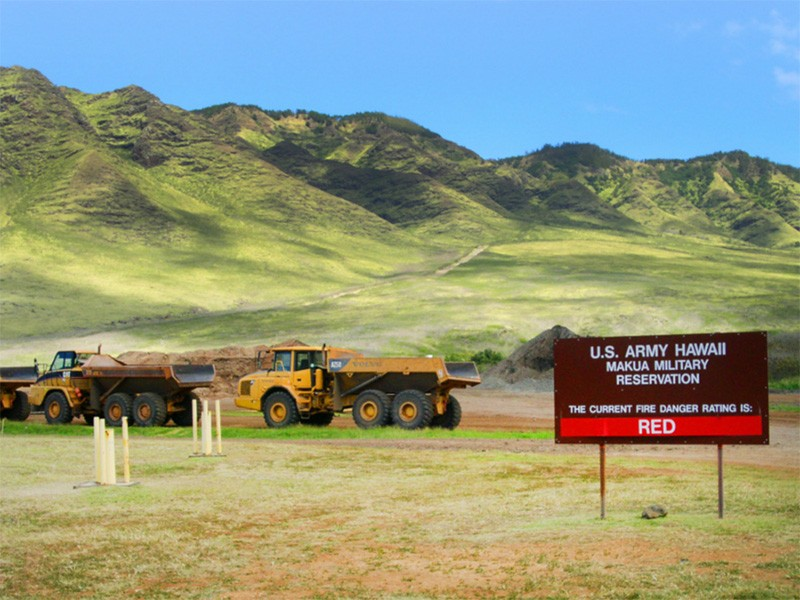 The Mākua Military Reservation is located in a culturally and ecologically important area, with scores of Hawaiian cultural sites and nearly fifty endangered plants and animals threatened by training.