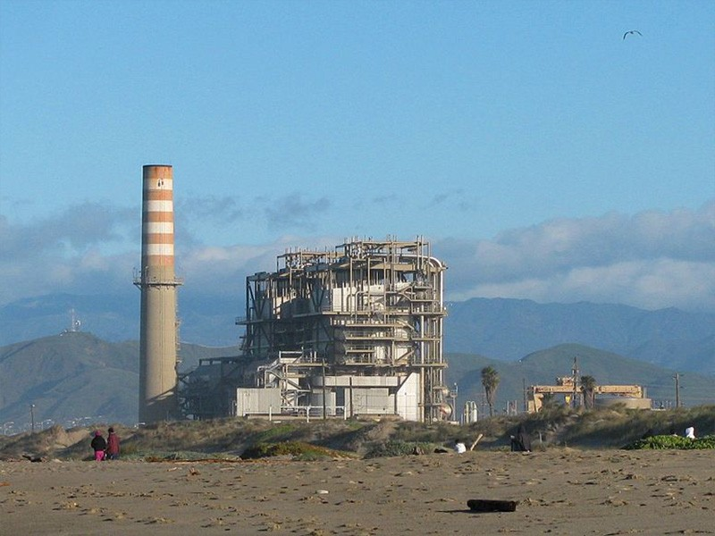 Mandalay Generating Station, Oxnard, California.