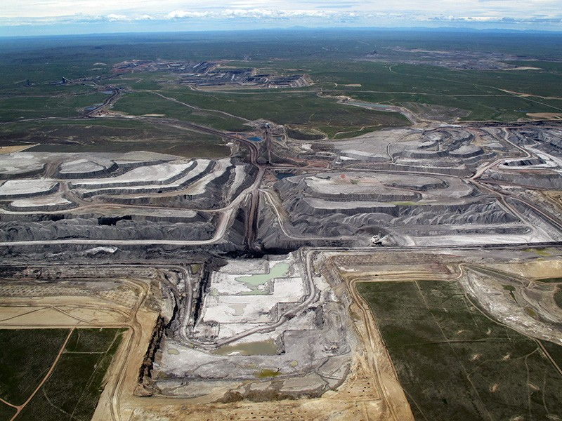 Peabody Energy's North Antelope Mine, Powder River Basin, Wyoming.
