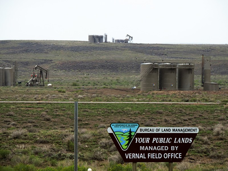 Oil and gas operations in Utah.