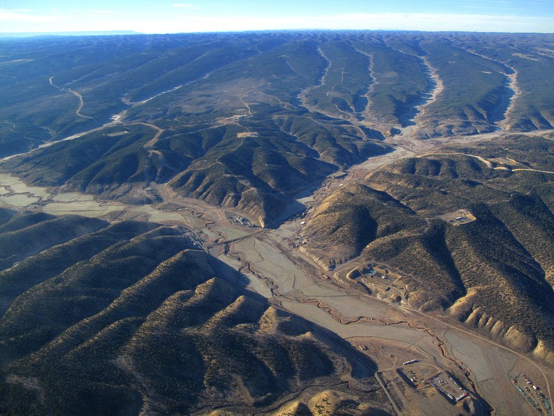 Oil shale development in Colorado's Piceance Basin.