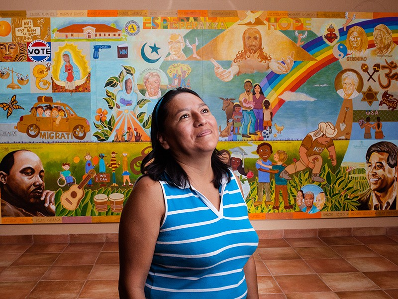 Olivia Flores, a farmworker in Florida, mixed chemicals with few protections or handling instructions.