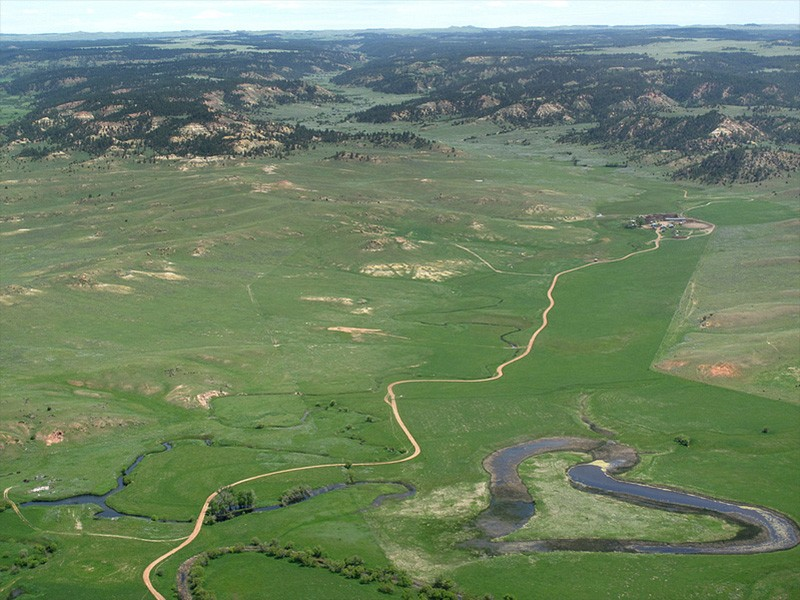 The Otter Creek area, located in southeastern Montana.