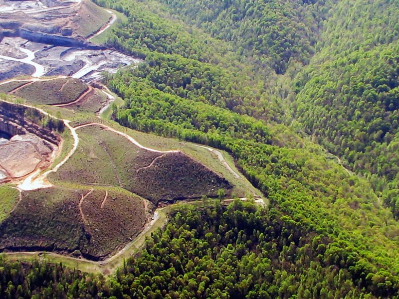 Dal-Tex mountaintop removal mine