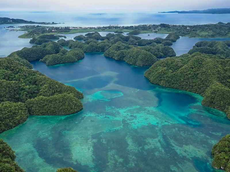 The U.S. exit from the Paris Agreement means it's up to the rest of us to move forward with climate change, says President Tommy Remengesau. His island nation is doing just that.