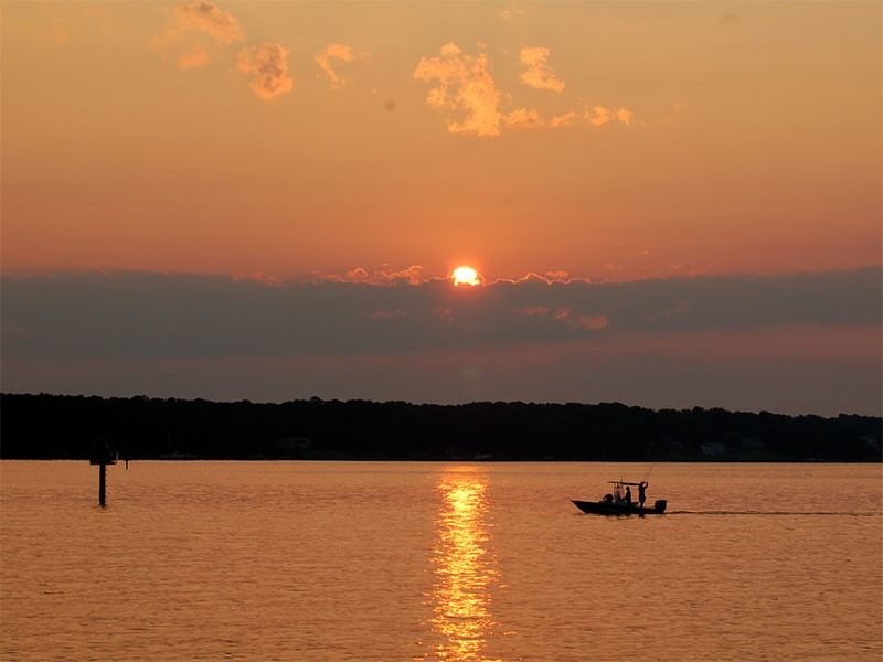 The Patuxent River is a tributary of the Chesapeake Bay.