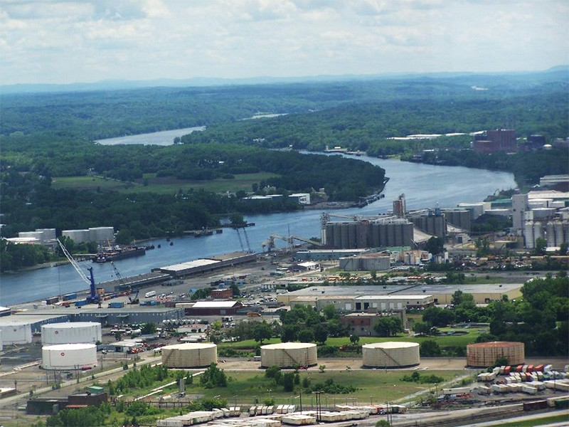 The Port of Albany.
