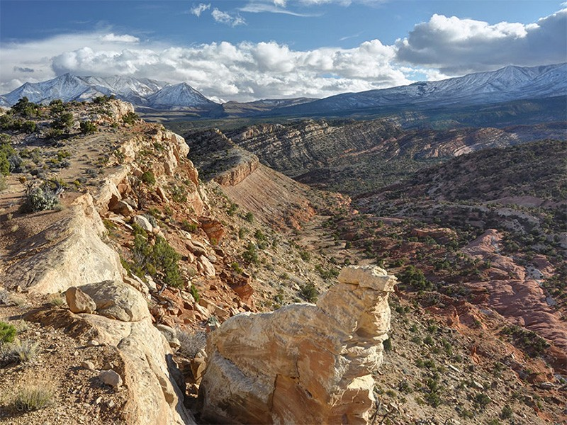 The Ragged Mountain proposed wilderness in the Henry Mountains and Fremont Gorge travel management area.