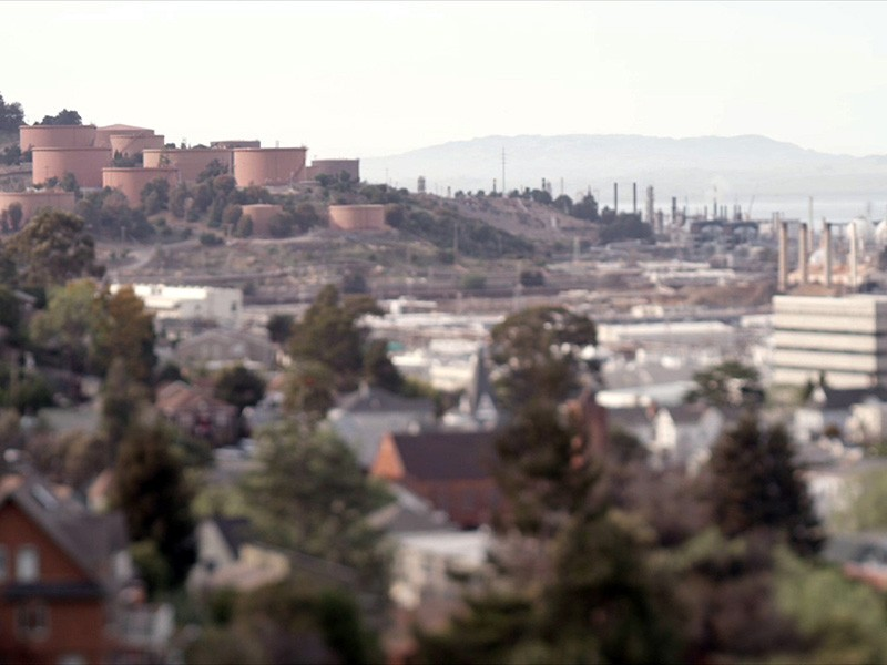 The City of Richmond, home to a Chevron refinery and tank farm, is already burdened by intense pollution caused by the fossil fuel industry.