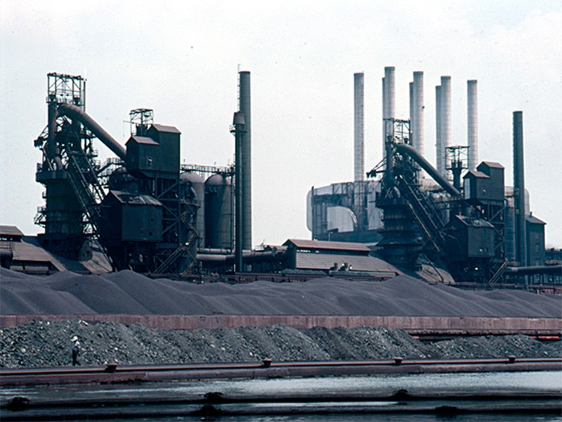 The River Rouge coal-fired power plant.