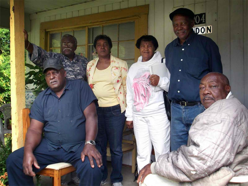 Residents of Rochelle, Georgia, who have had to live with untreated sewage overflows.
