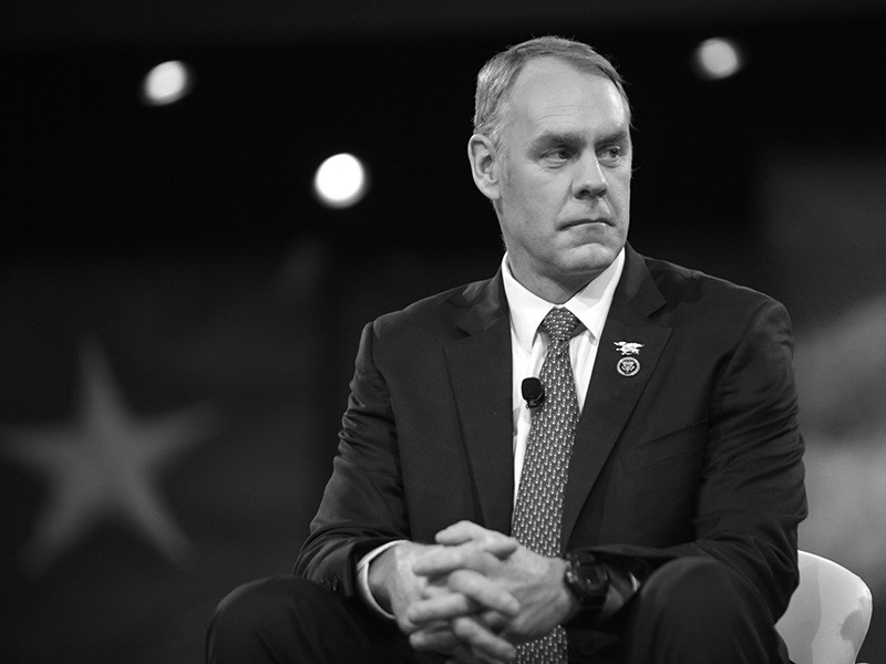 U.S. Congressman Ryan Zinke of Montana, speaking at the 2016 Conservative Political Action Conference in National Harbor, Maryland.