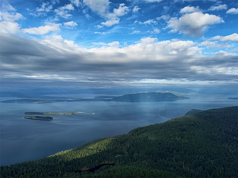 The Salish Sea.