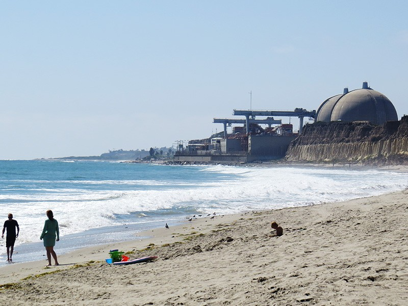 The San Onofre Nuclear Generating Station.