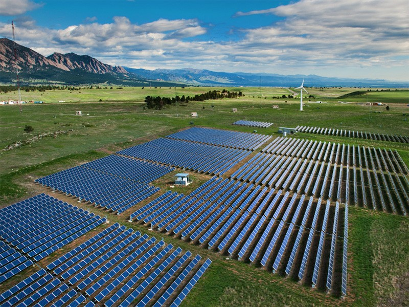 The National Wind Technology Center in Colorado.