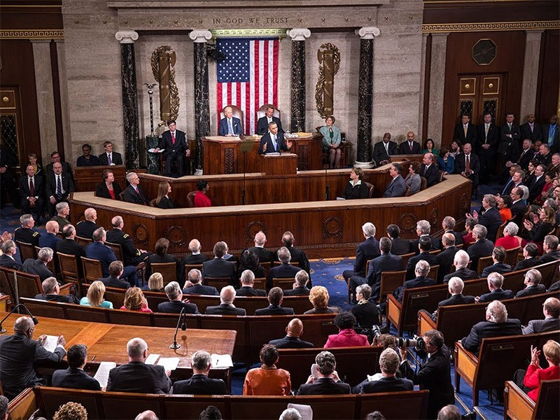 President Obama delivers the 2014 State of the Union Address.