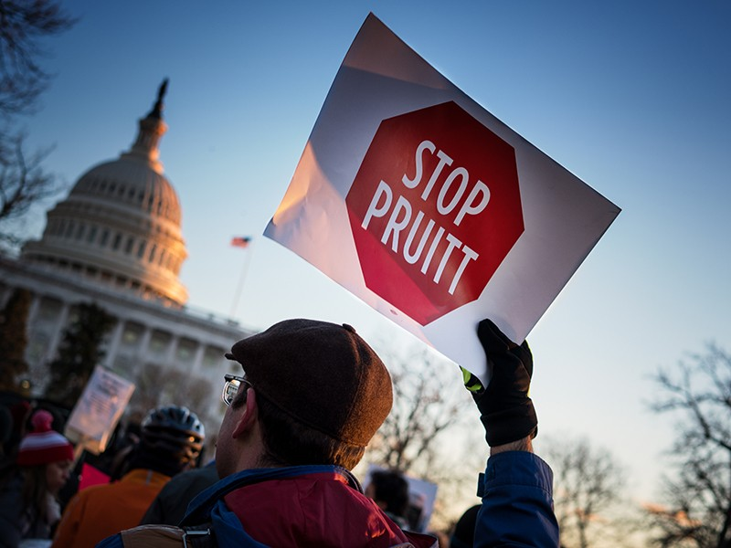 A directive from EPA Administrator Scott Pruitt and a bill in Congress seek to give industry the power to further delay or block public protections when the EPA misses legal deadlines.