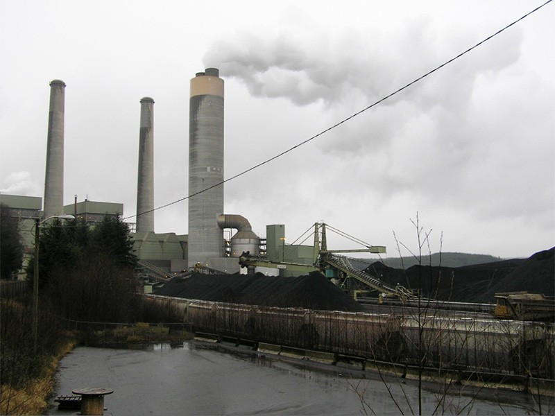 The TransAlta coal plant in Centralia, WA.