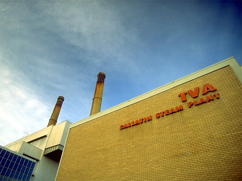The TVA Gallatin Fossil Plant.