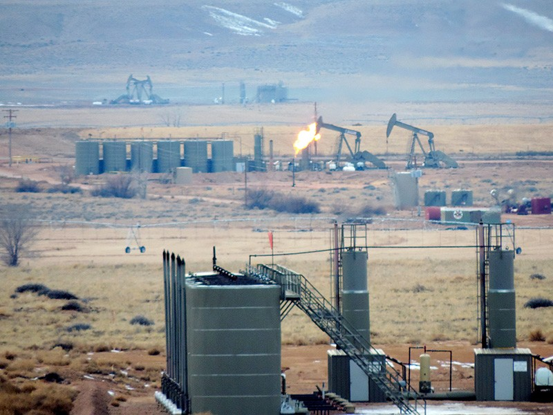 So many oil and gas wells have been developed in the Uinta Basin that air pollution levels rival those of big cities.