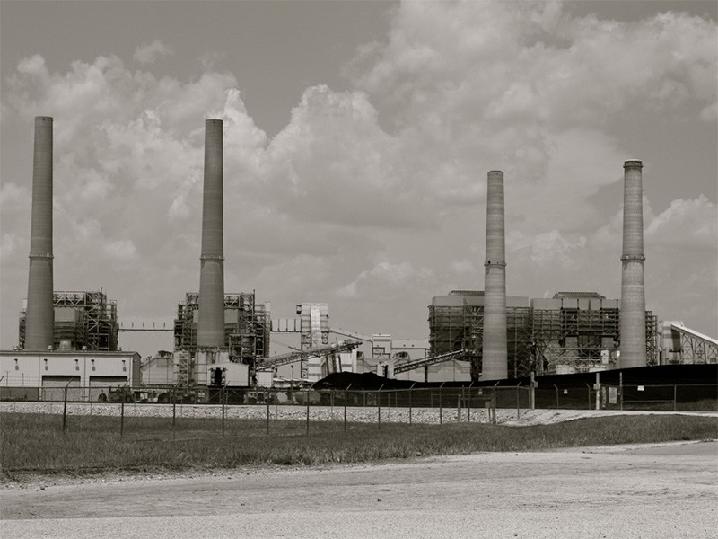 The W. A. Parish Power Plant in Thompsons, TX.