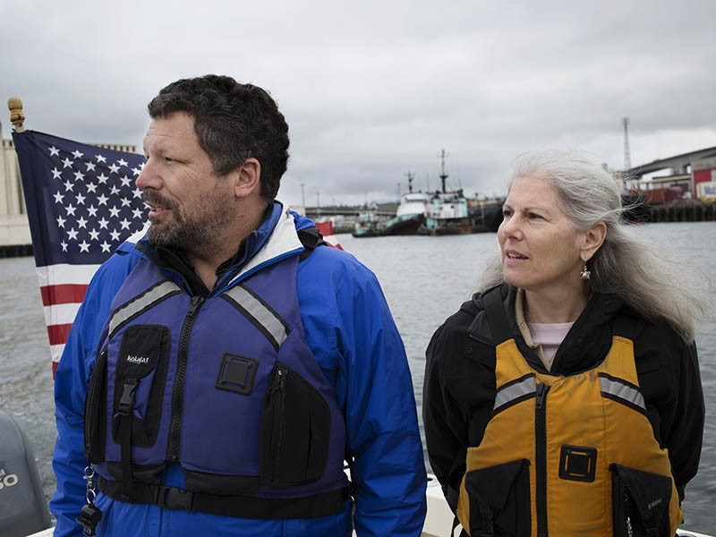 Chris Wilke, executive director of Puget Soundkeeper, is on a mission to protect Puget Sound from dangerous agricultural and stormwater runoff.