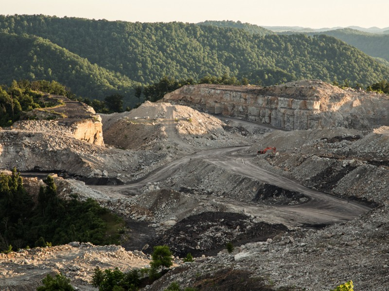 Mountaintop removal mining has devastated West Virginia.