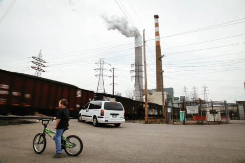 Coal-fired Cheswick Generating Station in Springdale, Pennsylvania releases dangerous pollution into the surrounding area.