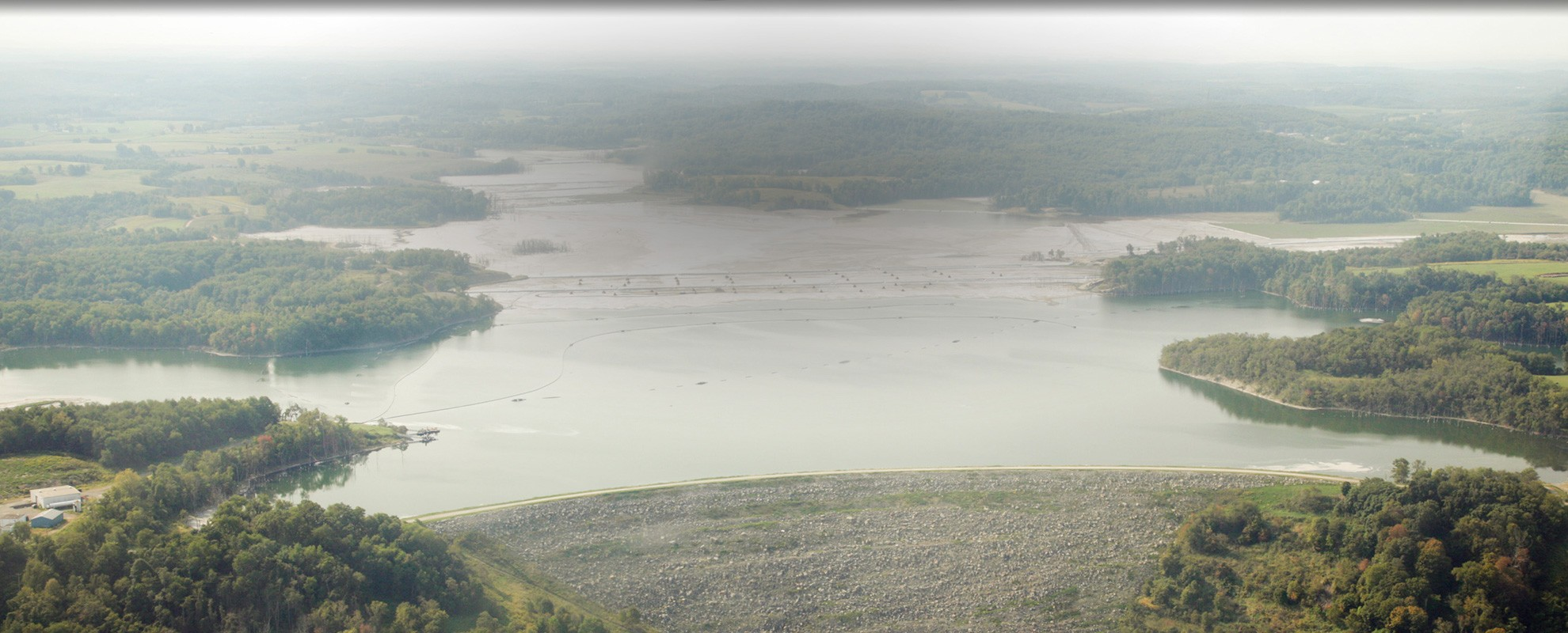 Little Blue Run, bordering Pennsylvania and West Virginia, is the largest coal ash dump in the nation.