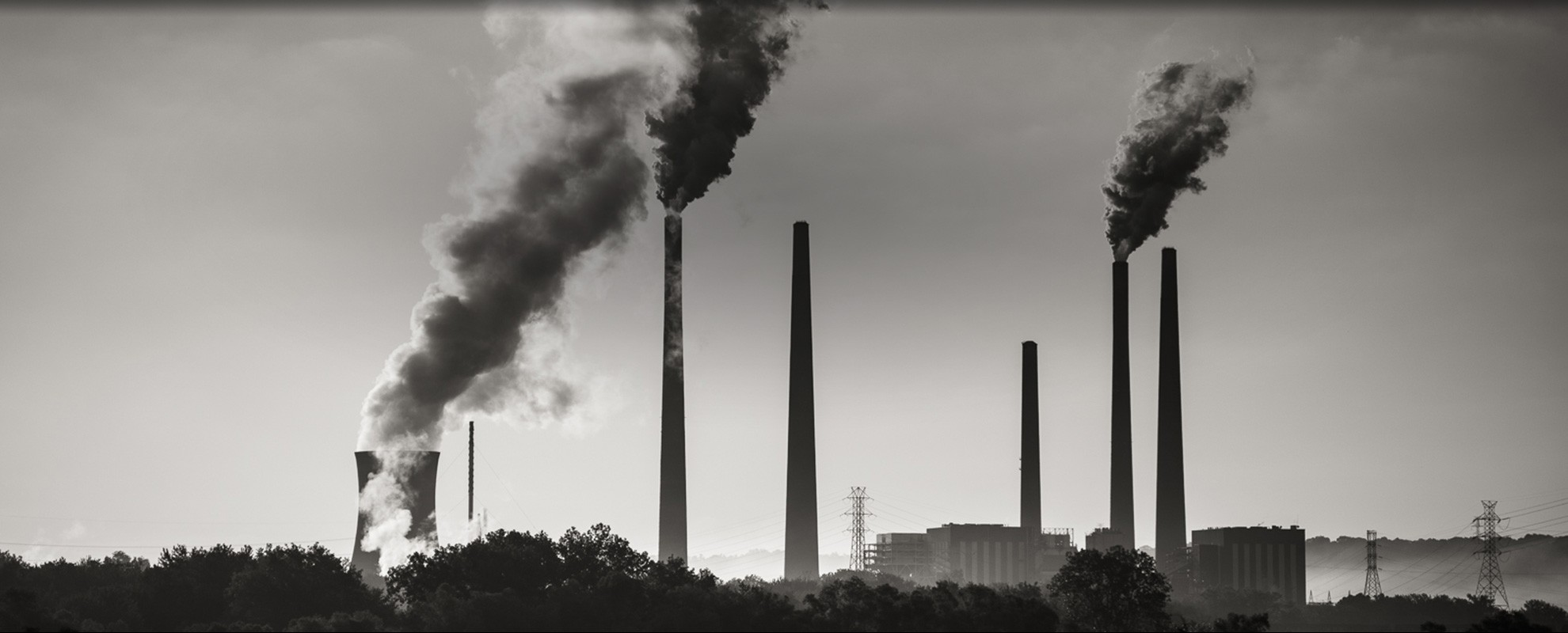 A coal-fired power plant on the Ohio River, west of Cincinnati.