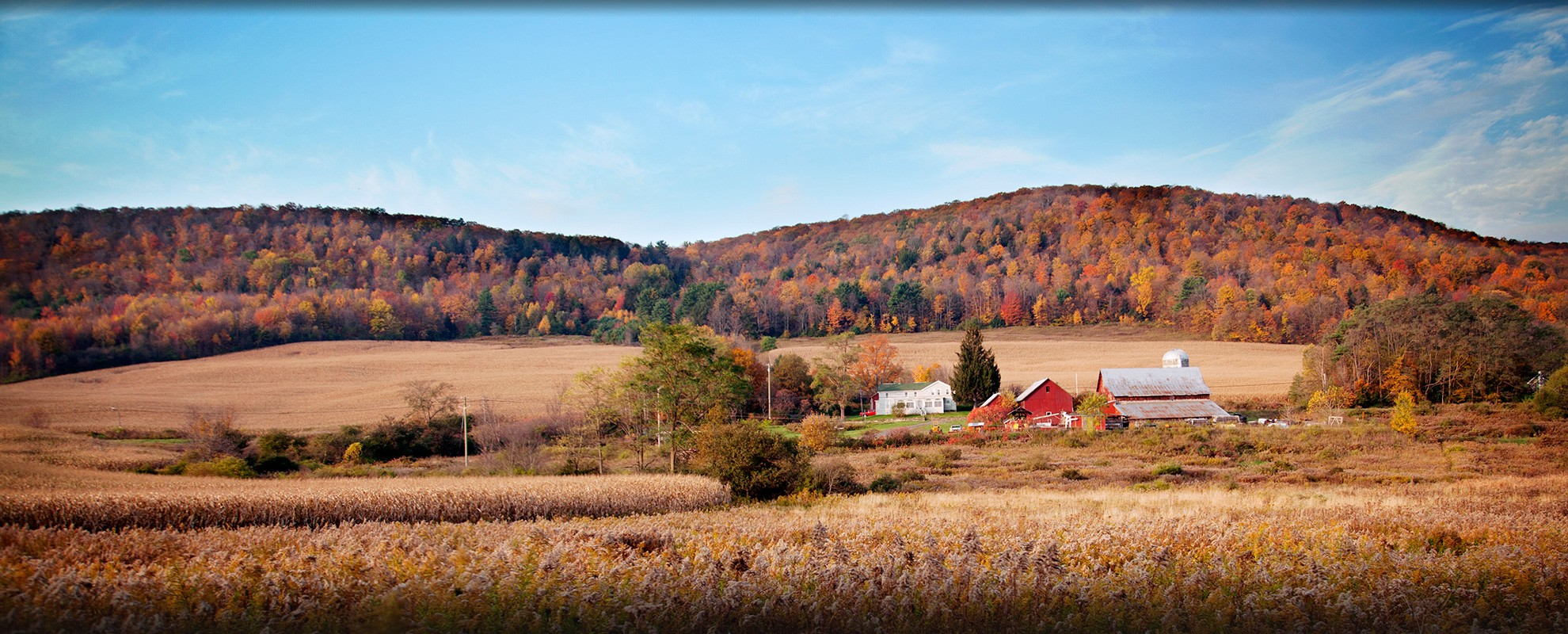 Upstate New York, near the Town of Dryden.