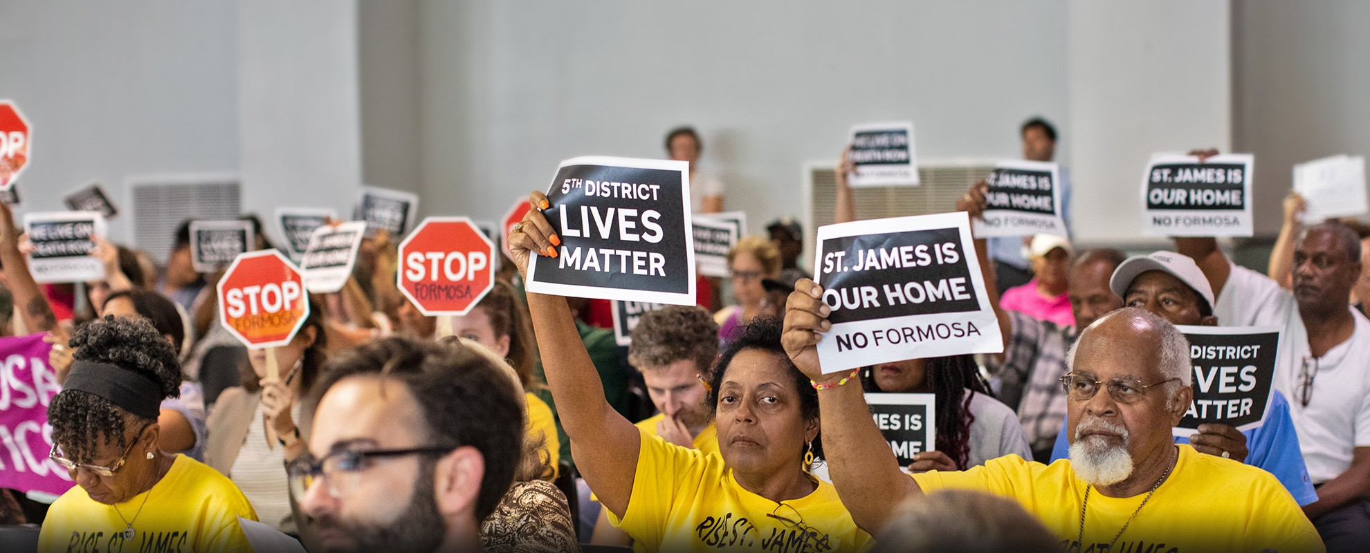 Sharon Lavigne of Rise St. James is fighting a massive petrochemical complex.