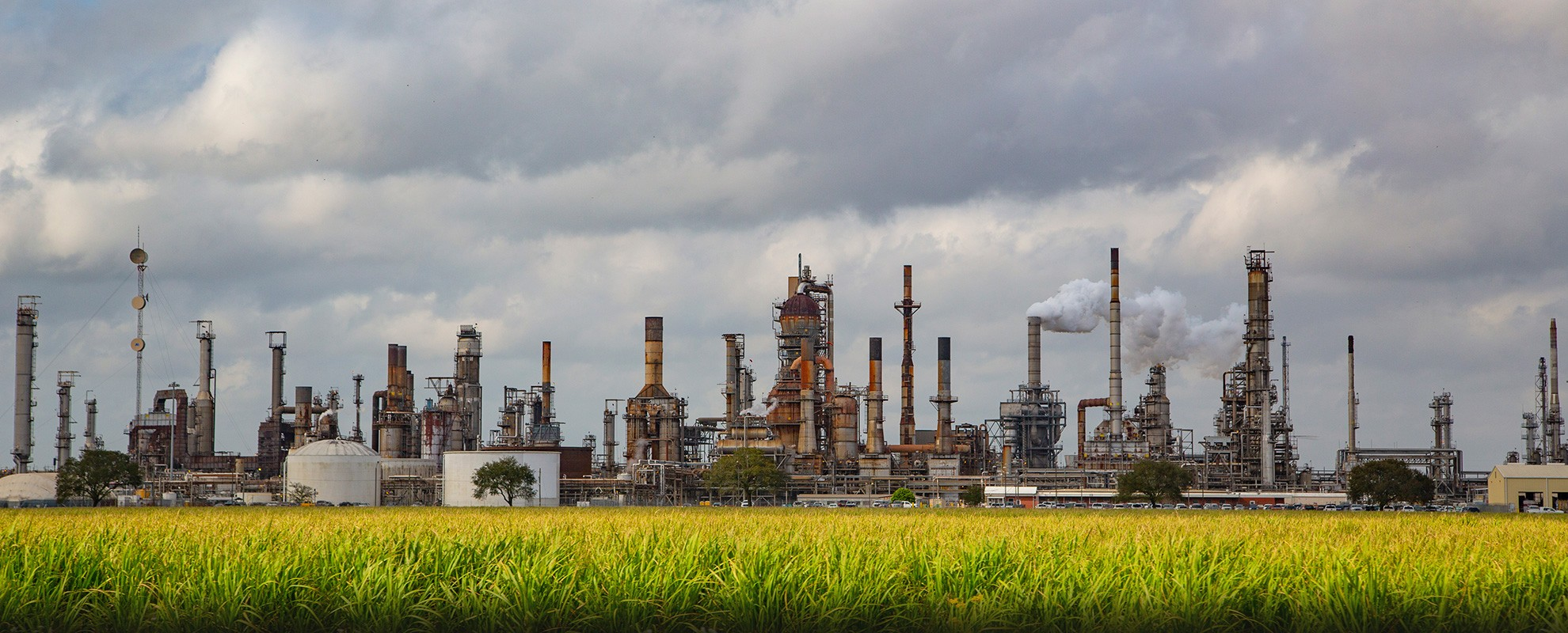 Industrial facilities in Louisiana's Cancer Alley.
