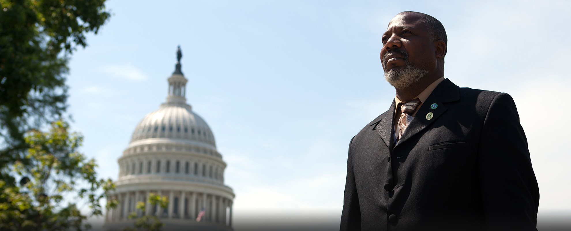 Hilton Kelley, Clean Air Ambassador and advocate for cleaning up pollution from refineries.