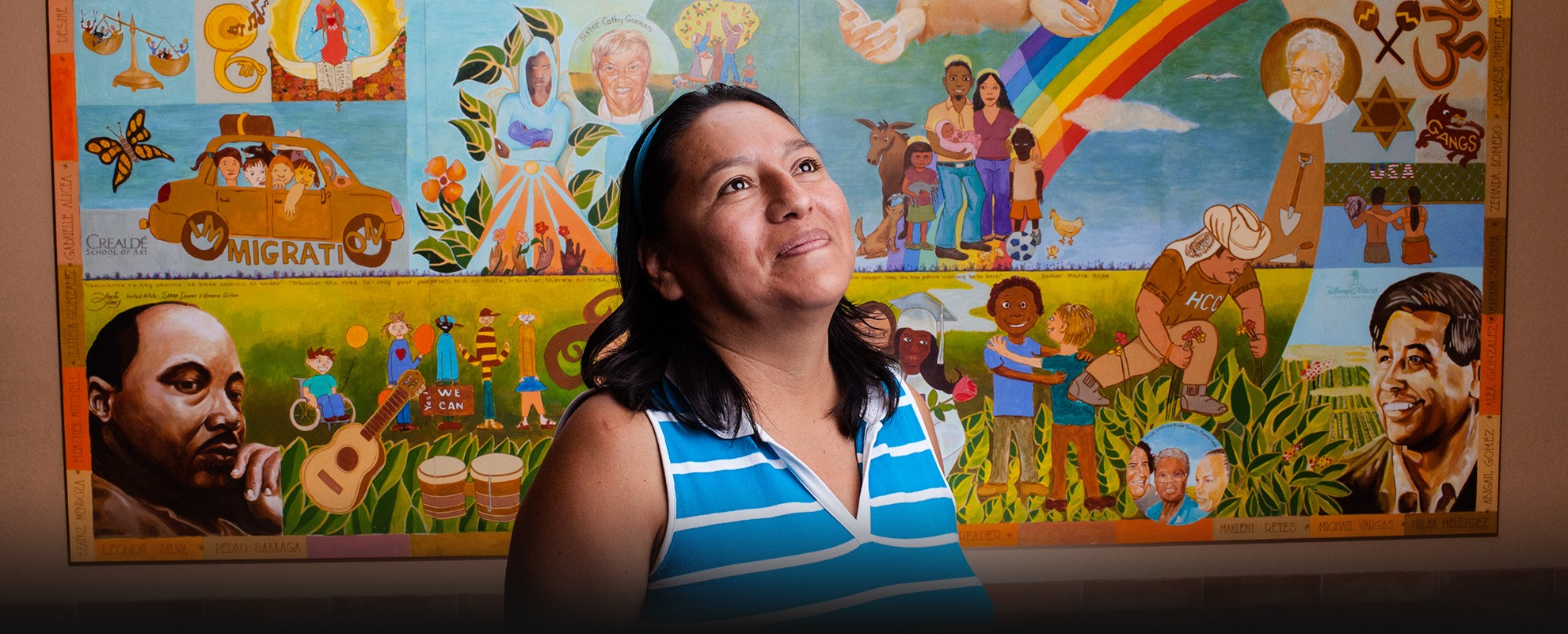 Olivia Flores, a farmworker in a Florida nursery, mixed chemicals with few protections or handling instructions.