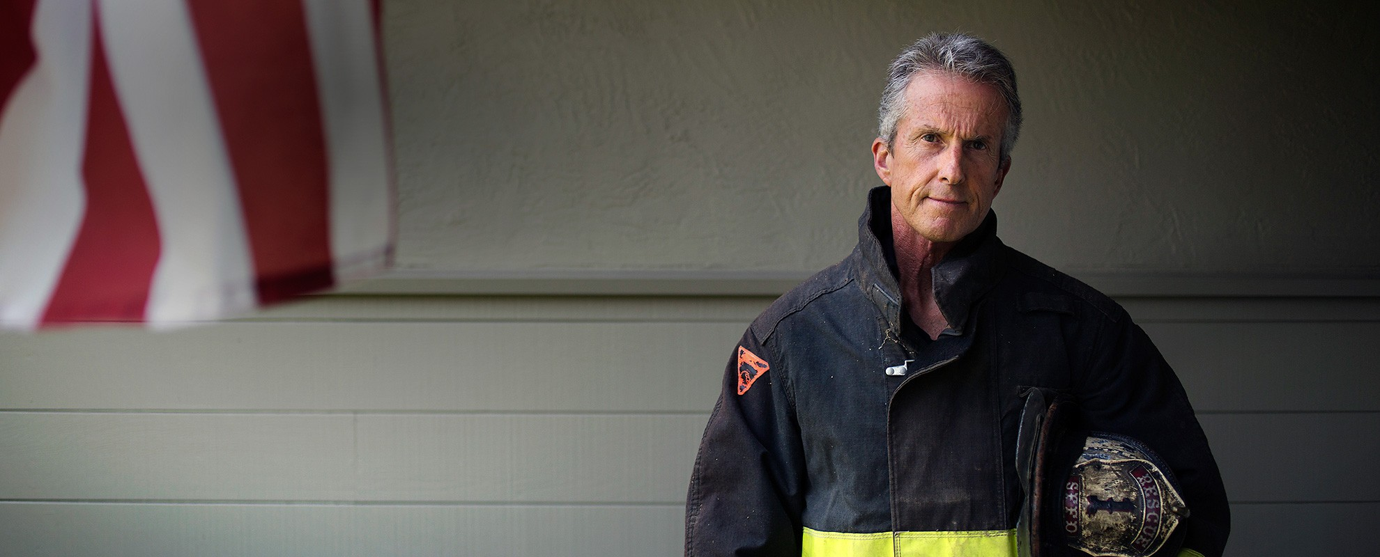 Retired firefighter Tony Stefani.