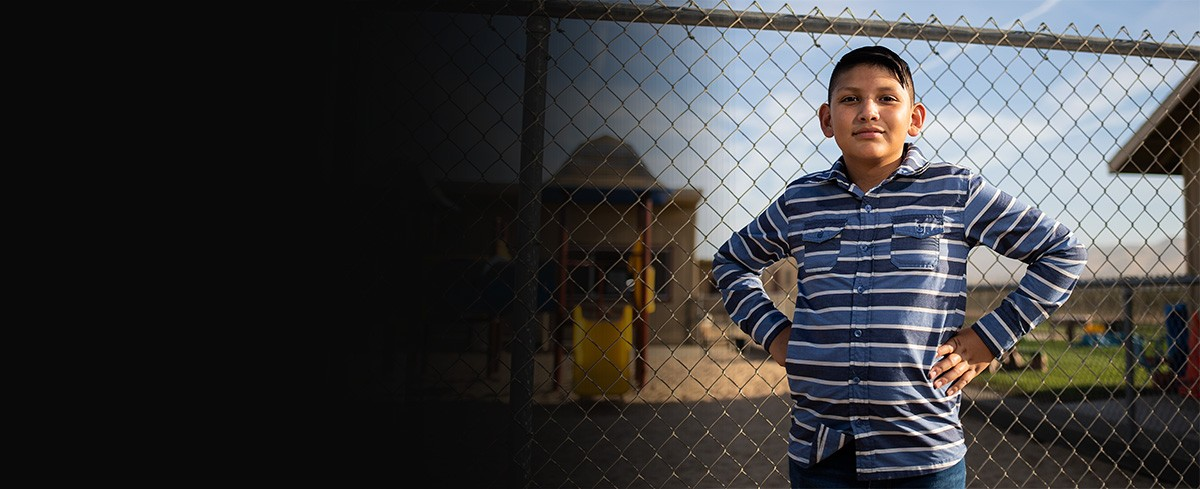 Victor suffered an asthma attack for the first time moments after pesticide fumes drifted into his classroom from a nearby vineyard. His mother Yanely Martinez is fighting to ban the pesticide chlorpyrifos.