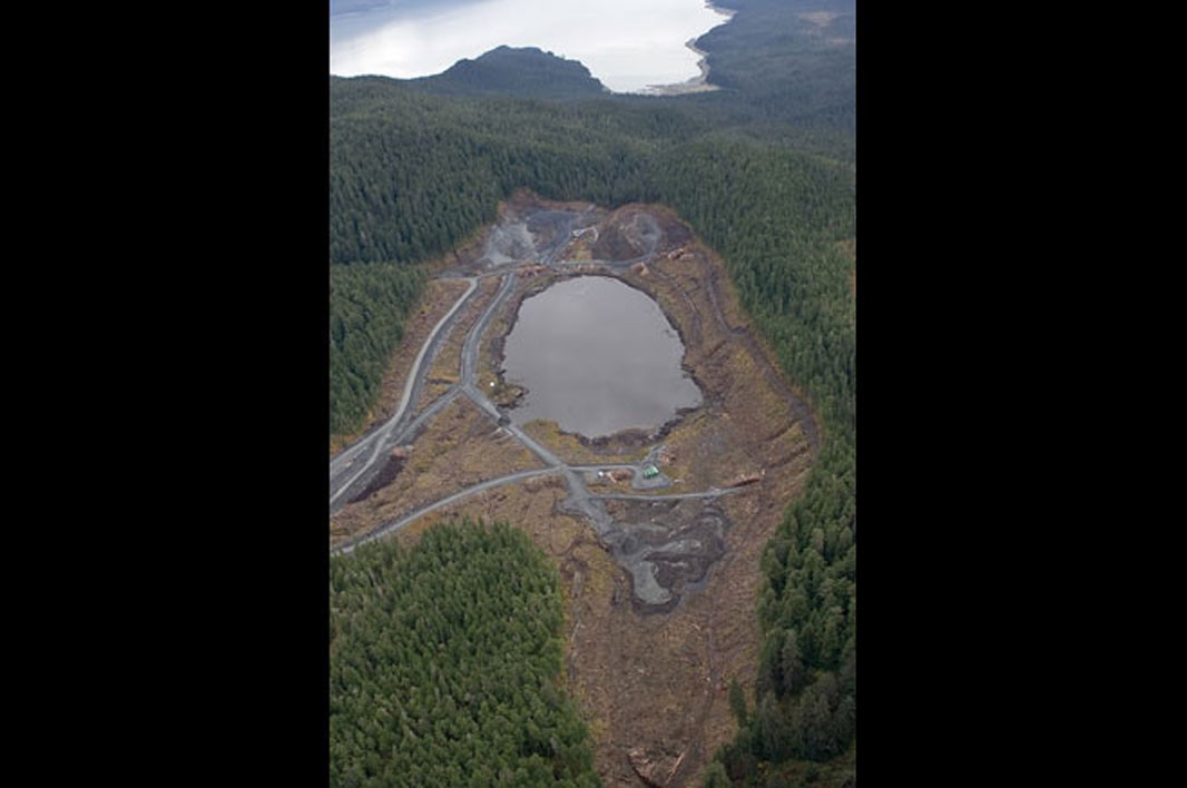 Aerial Shot of Lower Slate Lake: After