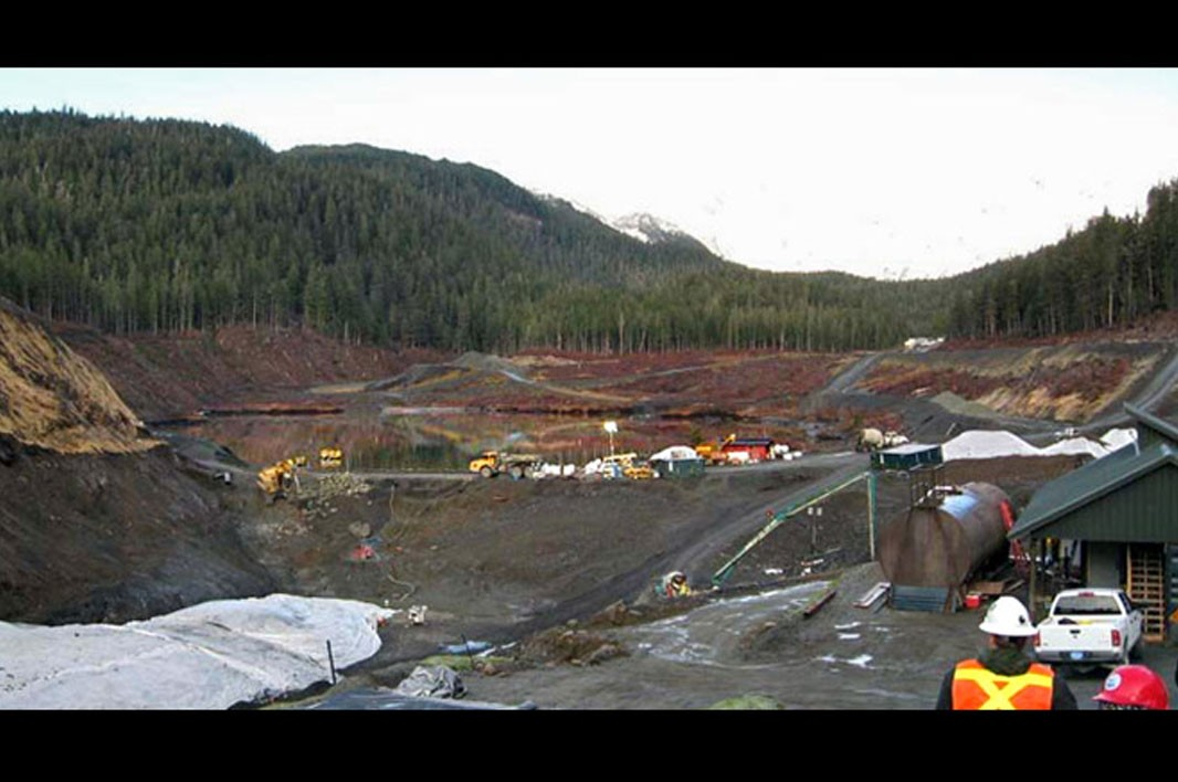 Groundview of Lower Slate Lake: After