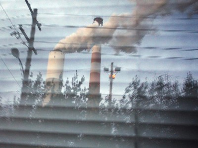 Coal-fired power plant in Cheswick, PA. (Chris Jordan-Bloch / Earthjustice)