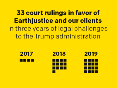 Three Years Battling the Trump Administration's Attacks on Our Health and Environment