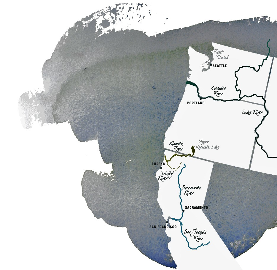 river systems western us