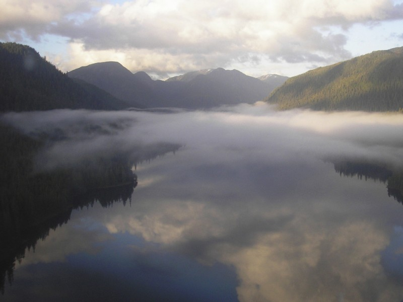 Bakewell Lake in the Tongass National Forest