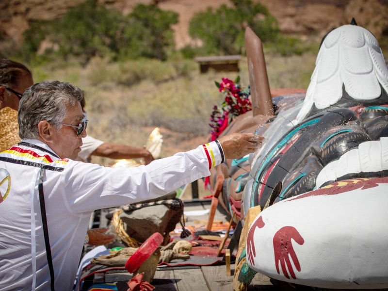 Red Road to DC event at Bears Ears, Utah. on July 17, 2021.