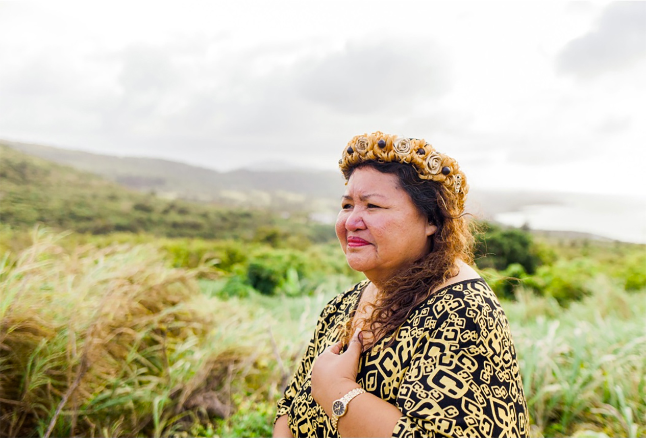 Cinta Kaipat is a resident of Saipan who has been fighting to return to her home island of Pågan. Pågan was evacuated years ago due to a volcanic eruption, but now former residents are prevented from returning. The U.S. military wants to turn Pågan—and the nearby island of Tinian—into a live-fire training area. Kaipat is a client in an Earthjustice lawsuit that is using NEPA to protect Pågan and Tinian.