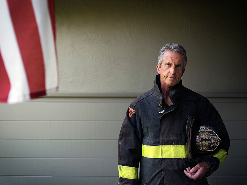 Retired firefighter Tony Stefani is the founder of the San Francisco Firefighters Cancer Prevention Foundation.